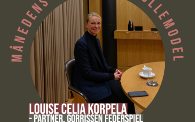 Månedens Kvindelige Rollemodel: Louise Celia Korpela